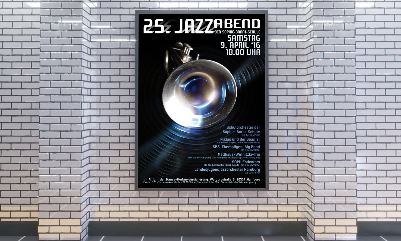 25. Jazzabend Plakat