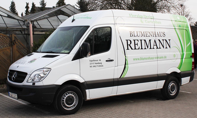 Reimann Fahrzeugbeklebung Kommunikation